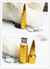 Kreativer Mini-USB STICK 64 GB wasserdicht Patrone/Kugel/Munition Pistole