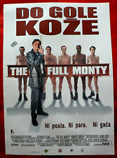 THE FULL MONTY 1998 COMEDY ROBERT CARLYLE TOM WILKINSON UNIQUE EXYU MOVIE POSTER