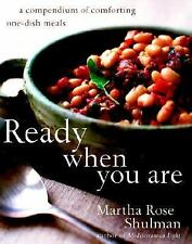 Ready When You Are: A Compendium of Comforting One-Dish Meals-ExLibrary