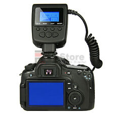 RF550D Macro LED Ring Flash RF-550D for Canon EOS 5D Rebel T2i T3
