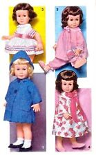 "VINTAGE 20"" CHATTY CATHY DOLL CLOTHES PATTERN 2898"