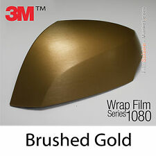 20x30cm FILM Brushed Gold 3M 1080 BR241 Vinyle TOTAL COVERING Series Wrap Film