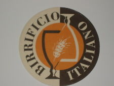 w.it. w.it. BIRRIFICIO ITALIANO I sottobicchieri-MICROBREWERY beer coaster A