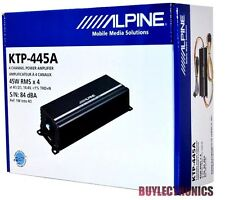 Alpine KTP-445A 4-Channel Head Unit Power Pack Amplifier Class D/  Alpine KTP445