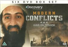 MODERN CONFLICTS WAR ON TERROR - 6 DVD BOX SET, HUNT FOR OSAMA BIN LADEN & MORE