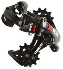 SRAM X01 DH 10 Speed MTB Type 2 Rear Derailleur Black/Red Medium Cage X0-1