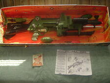 Johnny Seven OneManArmy Complete & Working w/Shadow Box,Toy projectiles,bullets