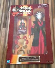 Star Wars Episode 1 Utimate Hair Queen Amidala 12""