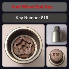 Genuine Audi Locking Wheel Bolt / Nut Key 819 17 Hex