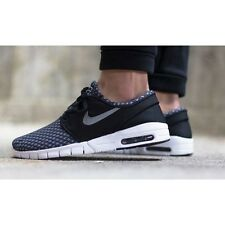 NIKE STEFAN JANOSKI MAX Trainers SB Air Skateboarding - UK 6 (EUR 40) Black/MTLC