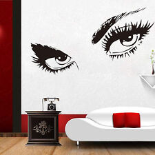 Ladys Sexy Eyes Wall Art Sticker Vinyl Room Decal Decor Removeable Wall Mural