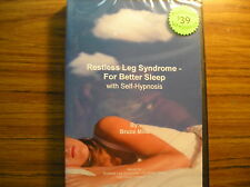 Restless Leg Syndrome - For Better Sleep - Self Hypnosis CD SRP $39