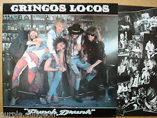 Gringos Locos ‎– Punch Drunk      Vinyl  LP   Germany