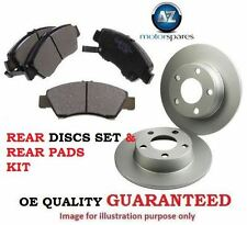 FOR DAIHATSU GRAND MOVE 1.5 1.6 1997-2001 REAR BRAKE DISCS SET & DISC PADS KIT