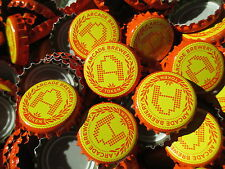 100 ((( Arcade Brewing ))) Beer Bottle Caps (No Dents). Free Shipping