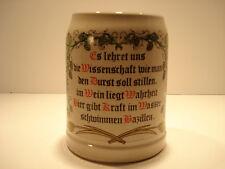 German Beer Stein / Mug