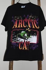 Vintage~LEE~Black~90's ARCTIC CAT ZR~T-SHIRT~Snowmobiling~ALL COTTON~Medium~USA