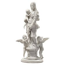 Design Toscano WU73798 1517 Madonna of the Harpies Bonded Marble Statue