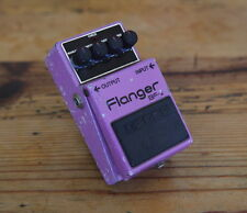 Boss BF-2 Flanger Effect Pedal -- Rare Silver Screw version - MIJ --