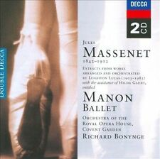 Massenet: Manan - Complete Ballet (CD, May-2002, 2 Discs, Decca (Germany))