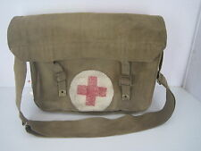 BRITISH WWII WW2 CANVAS MEDICS BAG DATED 1942