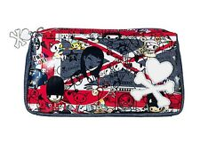 NWT TOKIDOKI LOVE FROM LONDON EVERYDAY BAG MAKEUP BAG WITH CHARM RARE SOLD OUT!