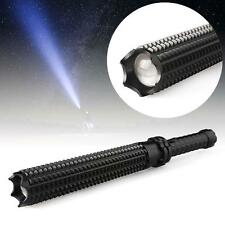 8000LM CREE Q5 LED Spiked Mace Baseball Bat Long Flashlight Torch Lamp 3 Mode FB