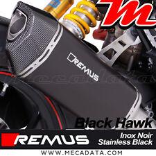 Silencieux échappement Remus Black Hawk avec cat Ducati Hypermotard 939 SP 2017