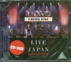 CD + DVD SET IL DIVO A MUSICAL AFFAIR LIVE IN JAPAN SEALED NEW 2014