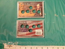 3X5 INERT PLASTIC 5 SPACE 2009 LINCOLN BICENTENNIAL CENT HOLDER