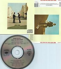 PINK FLOYD-WISH YOU WERE HERE-1975-USA-COLUMBIA RECORDS CK 33453-CD-MINT-