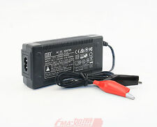 Intelligent Charger 14.4V 3A for 12V Lead-Acid SLA Battery w/Crocodile Clips EUT