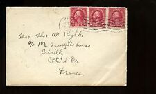 US TransAtlantic Cover 1925 Pike, NH to Oisilly, Cote d'Or, France with b/s