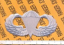 US Army Airborne Parachute wing 4 inch pocket chest patch
