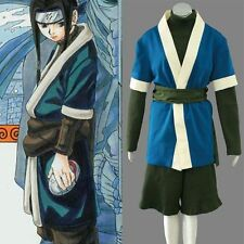 Naruto Haku Cosplay Costume Handmade Full Set