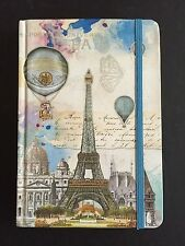 PUNCH STUDIO 15517 JOURNAL 100 LINED PAGES EIFEL TOWER PARIS HOT AIR BALLOONS