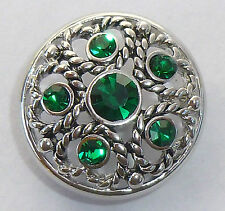 Snap It Button Chunk Charm Fits Interchangeable Style Jewelry