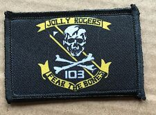VF 103 F14 Tomcat Morale Patch Jolly Rogers Top Gun Navy Goose Maverick