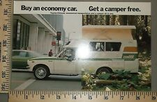 1976 Toyota Chinook Camper Post Card