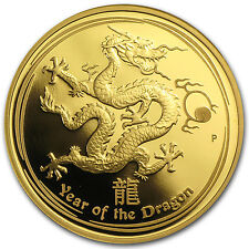 2012 Gold 1 oz Lunar Year of the Dragon Proof (Series II) - SKU #62411