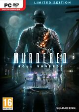 PC game Murdered: Soul Suspect Limited Edition DVD shipping new