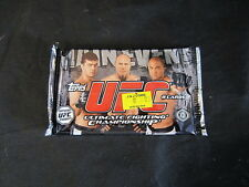 2010 UFC MAIN EVENT  FACTORY SEALED  HOBBY PACK. 8 CARDS