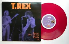 "T.REX : TAVERNE DE OLYMPIA LIMITED EDITION 10"" PURPLE VINYL"
