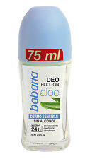 babaria Aloe Vera Roll-On Deodorant sensitive 75ml