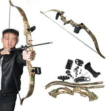 Camo Archery Take Down Recurve Bows Fitness Hunting Practice Games Child Gifts
