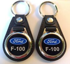 FORD F100 KEYCHAIN DOUBLE PACK black