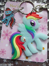 GRANDE PORTACHIAVI MY LITTLE PONY RAINBOW DASH freindship IS MAGIC, [Borsa Regalo,