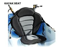 2 ROD HOLDERS - NEW DELUXE MOLDED KAYAK SEAT SIT-ON-TOP  WITH STORAGE BACK PACK.