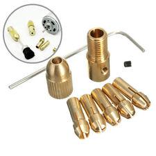 8PCS 0.5-3.0mm Small Electric Drill Bit Collet Micro Twist Drill Chuck Set Tool