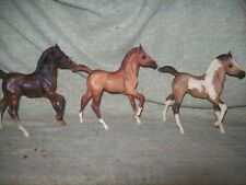 Breyer Classic  lot of 3 Andalusian Family Foal - red dun, seal bay, grulla